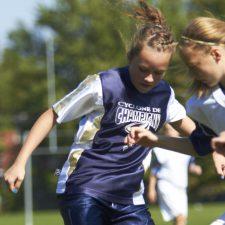 Match de soccer Champigny