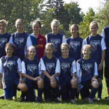 Soccer cadet féminin